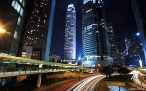 Night In The Beautiful City Wallpaper