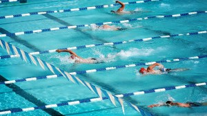 Olympic Swimming Sports HD Background