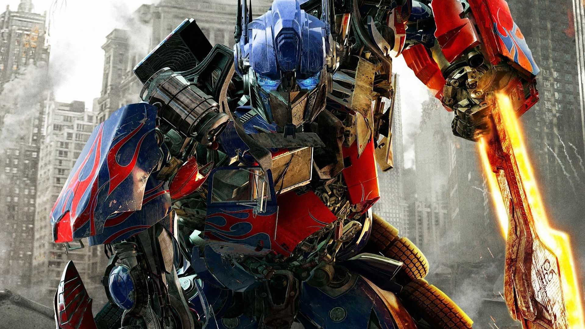 Optimus Prime Swords Movie Wallpaper