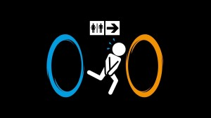 Portal Funny Wallpaper