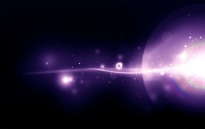 Purple Light Wallpaper Desktop