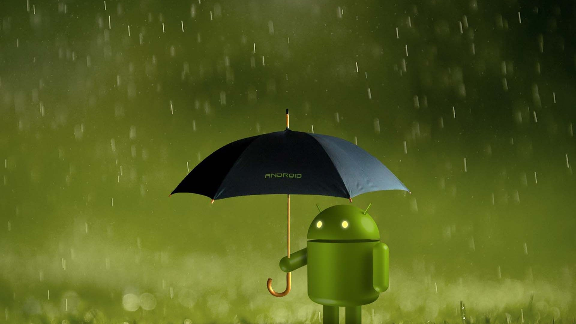 Rainy Android Wallpaper