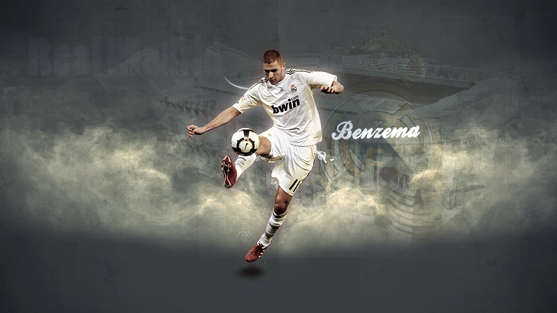 Real Madrid Benzema Hd Wallpaper