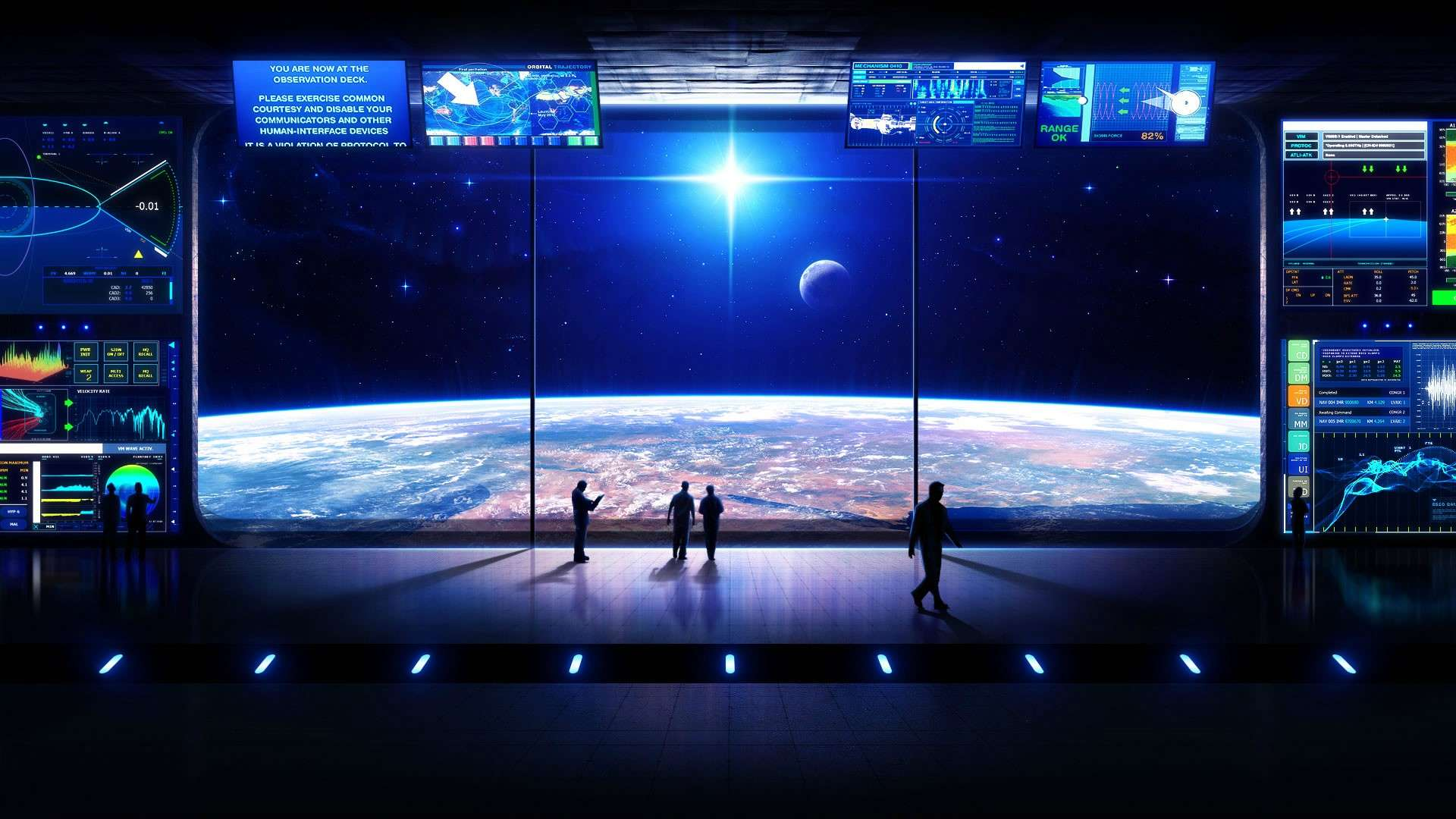 Space 3D Wallpaper Full PC