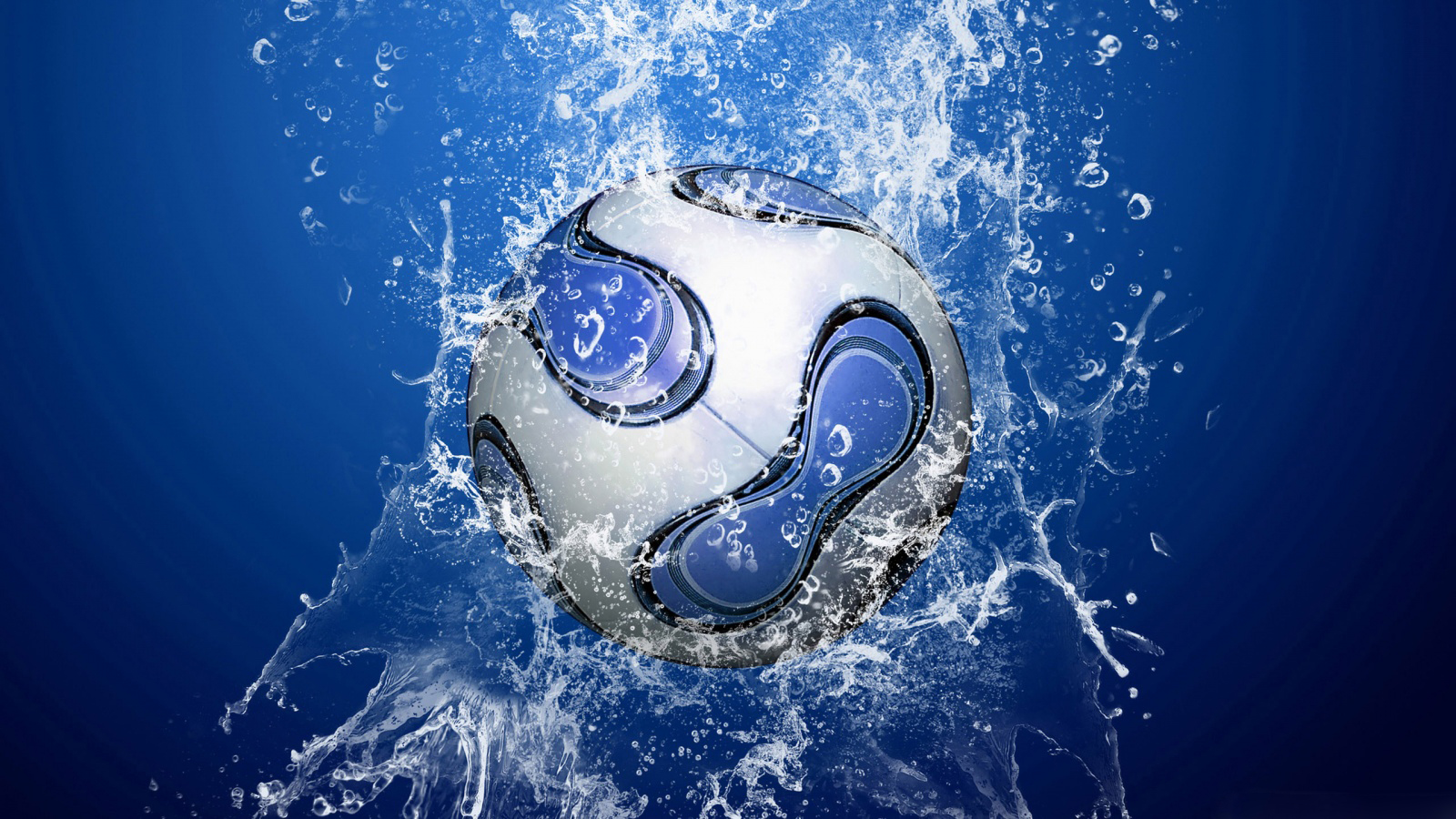 Splash Waters Art Sports Wallpaper
