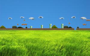 Stage In Games Super Mario Wallpaper