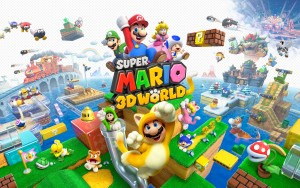 Super Mario 3 3D Wallpaper HD