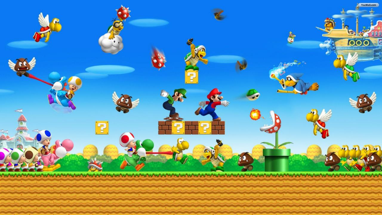 Super Mario Wallpaper Free Downloads