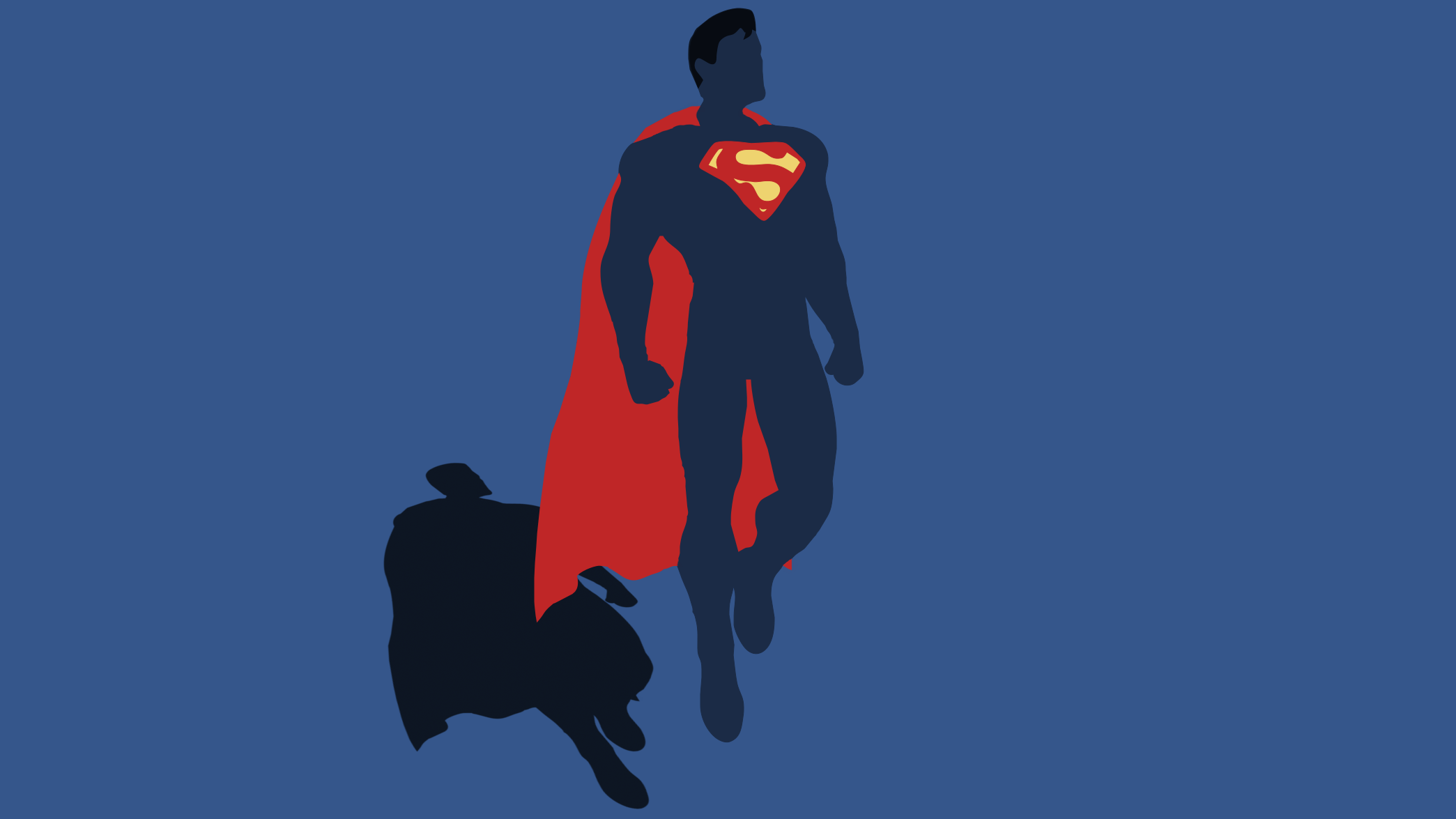 Superman Photosop Design Wallpaper