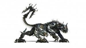 Transformers Ravage Robot Wallpaper