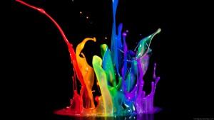Water Drop Color Wallpaper
