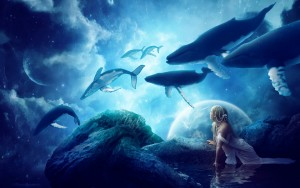 Whale Fantasy Image