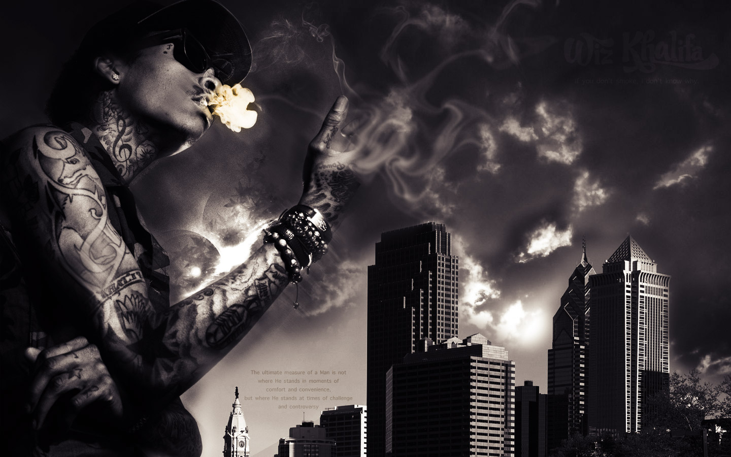 Wiz Khalifa Fire Wallpaper