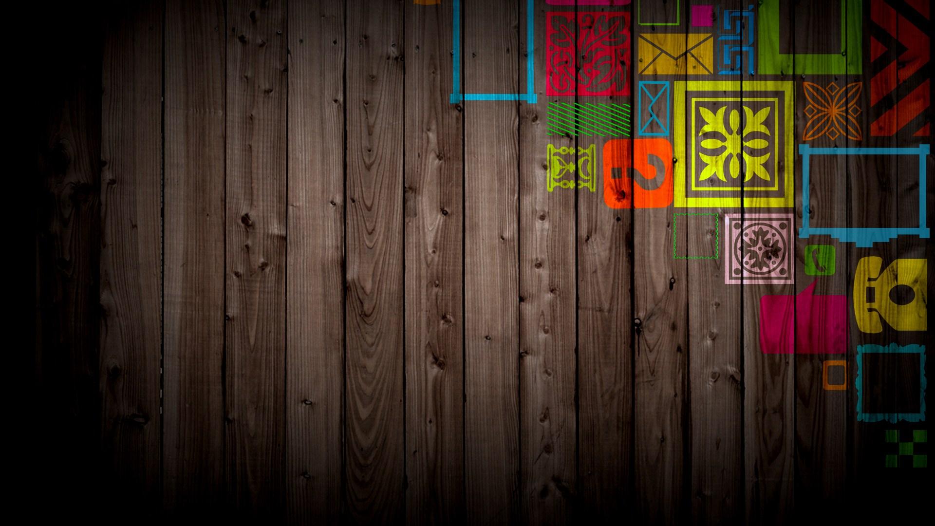 Wood Cool Wallpaper
