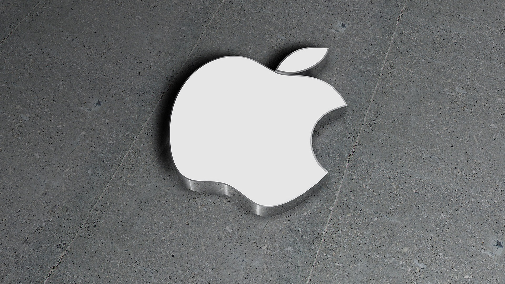3d Image Apple