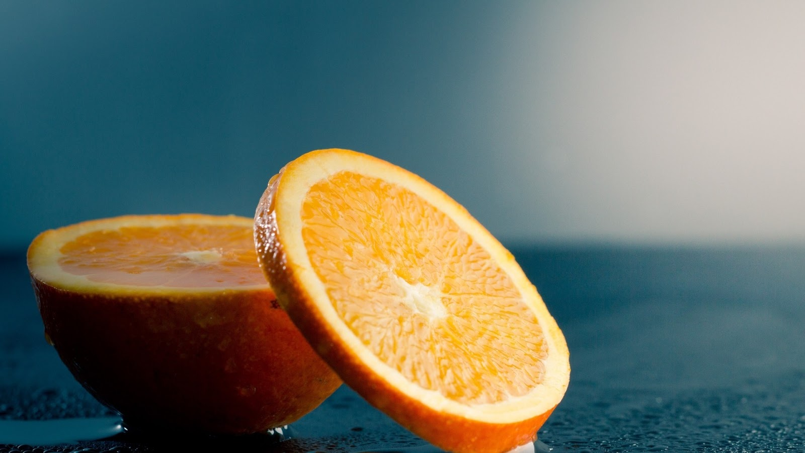 3d Orange Hd Wallpaper