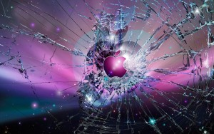 Apple Glass Image