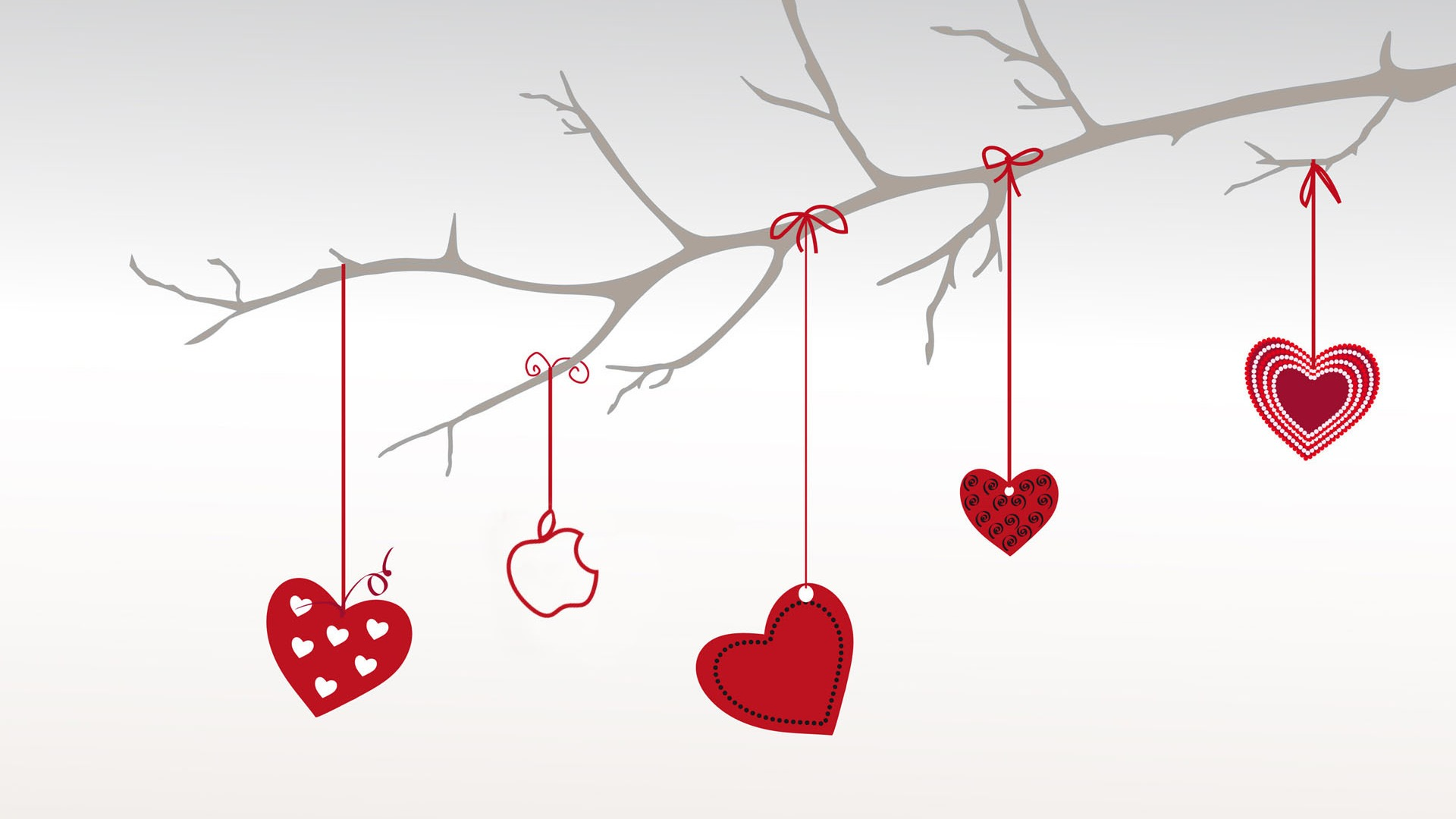 Apple Valentine Wallpaper