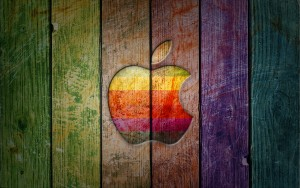 Apple Wood Color Wallpaper