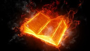 Fire Book 3d Wallpaper