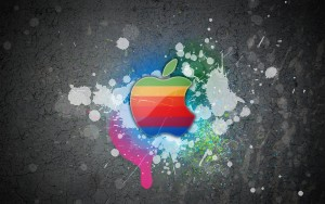 Happy Apple Wallpaper