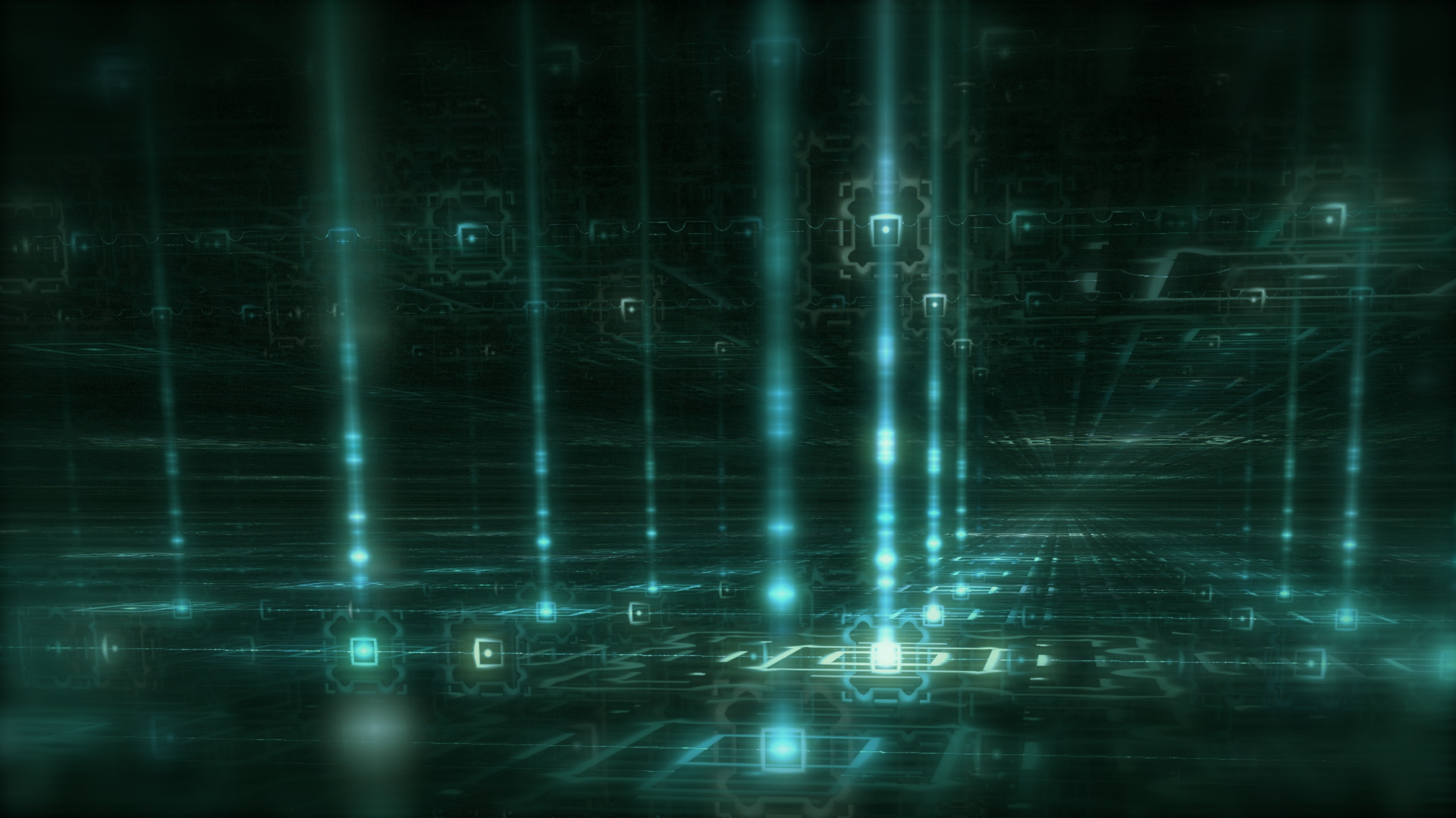 Matrix Abstract Wallpaper