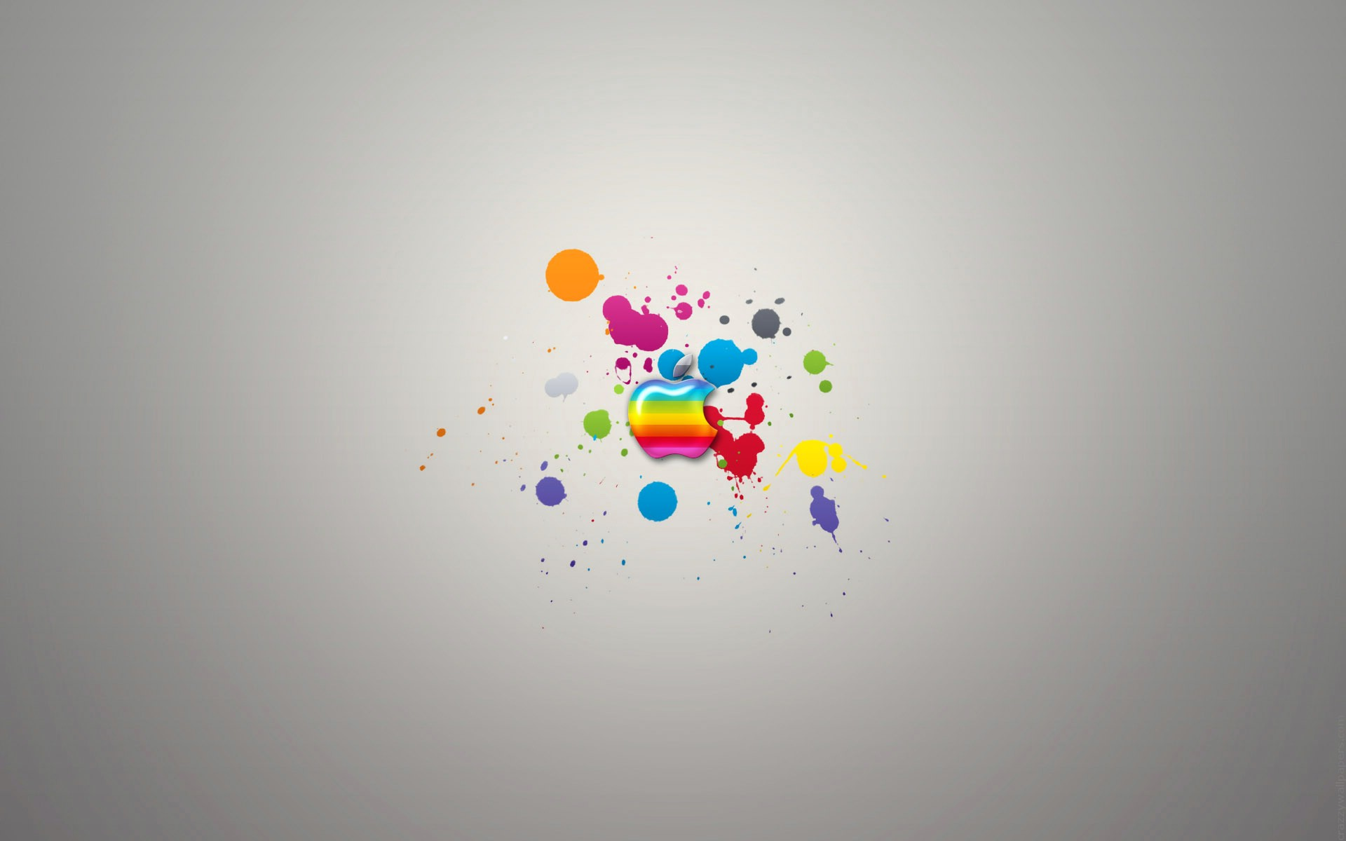 Multicolor Apple Wallpaper