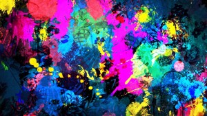 Paint Abstract Wallpaper