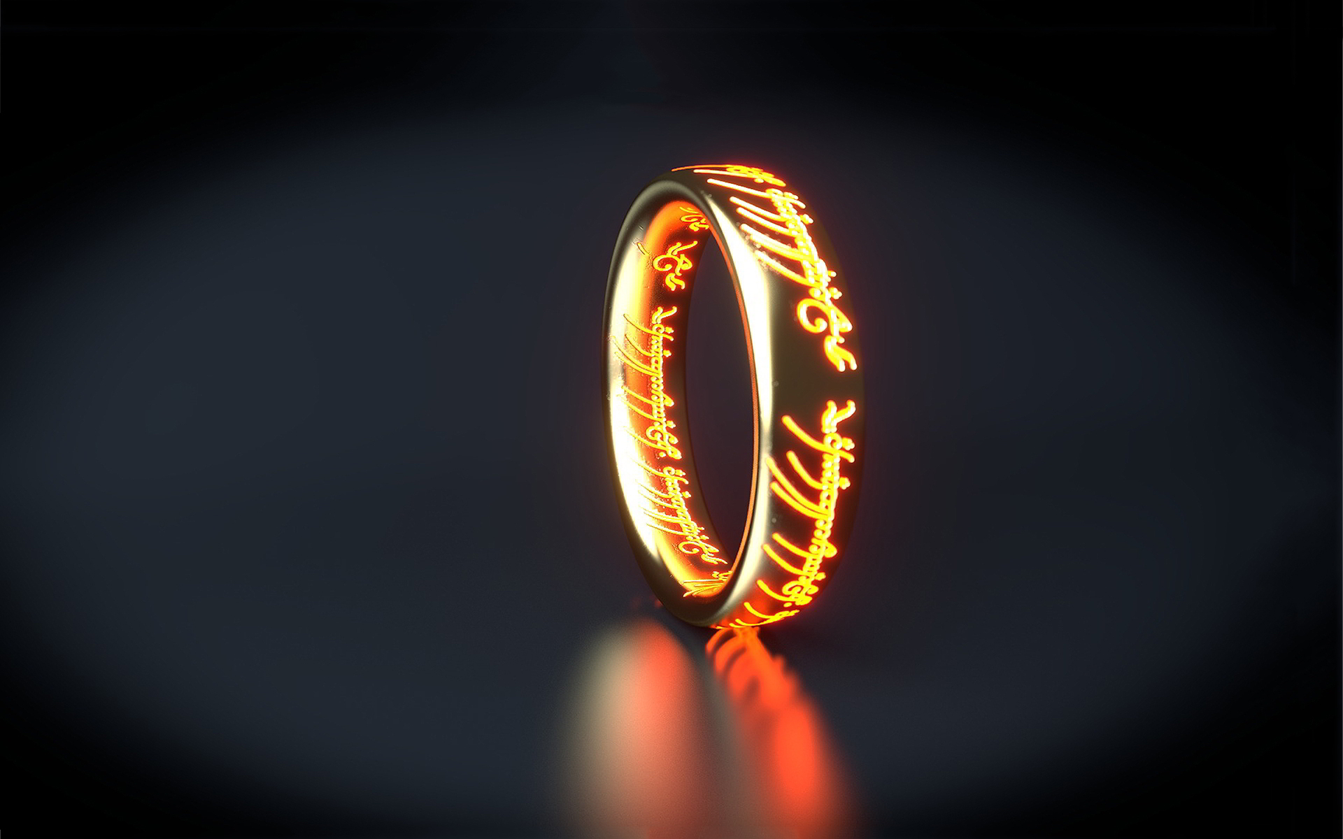 Rings 3d Wallpaper
