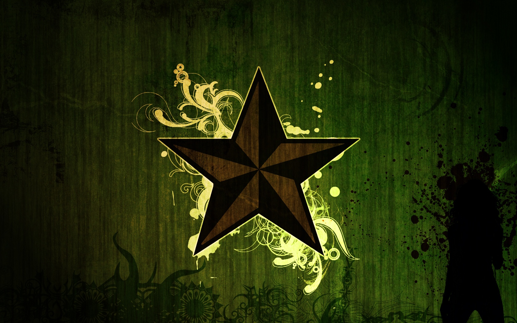 Stars Abstract Wallpaper