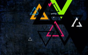 Triangle Abstract Wallpaper