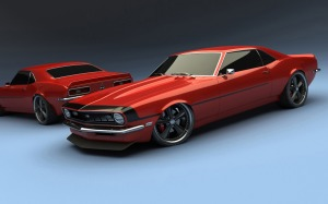 Chevrolet Wallpaper Muscle 3D