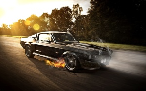 Mustang Shelby Wallpaper Photoshop