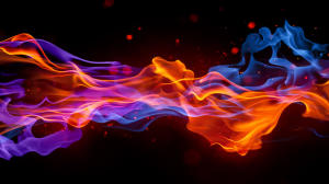 Abstract Fire Cool Wallpaper HD