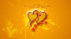 Fall In Love Wallpaper Quotes