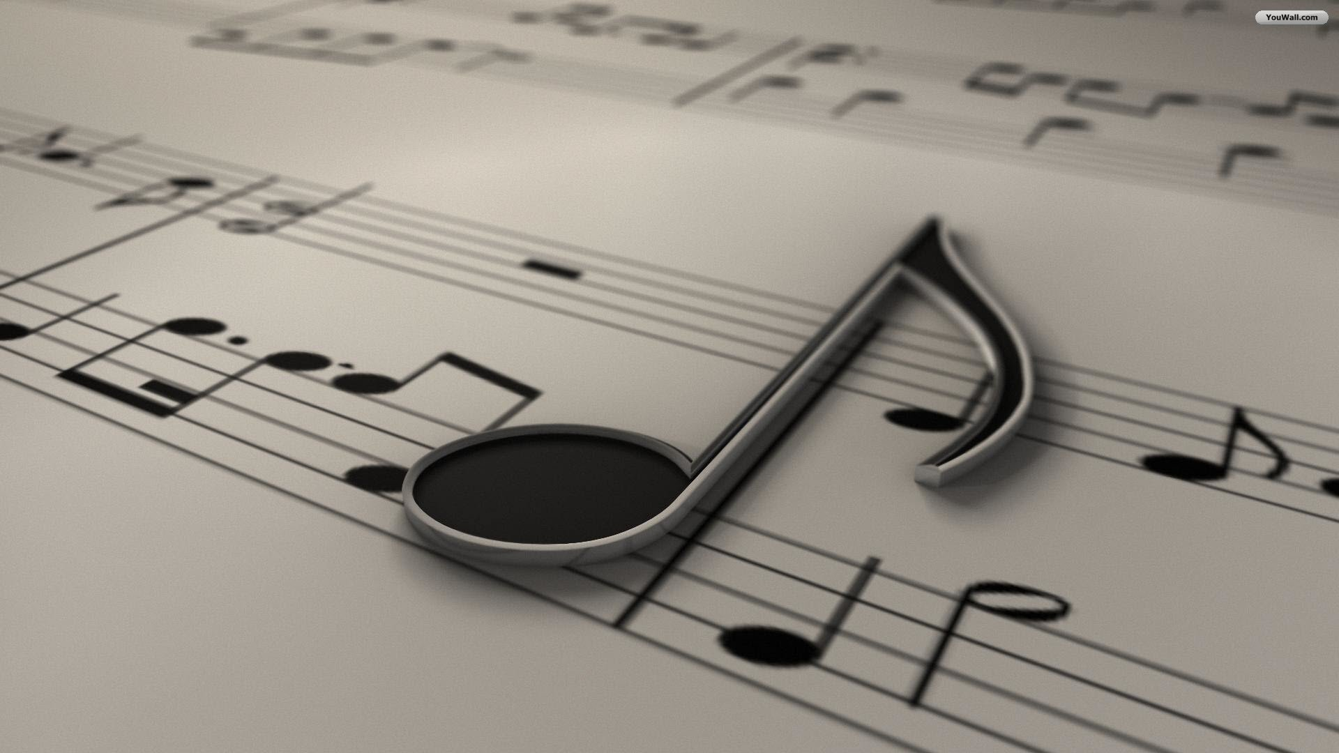 Music Note Wallpaper HD #3812 Wallpaper | WallDiskPaper