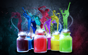 Paint Colorful Wallpapers 1920x1200