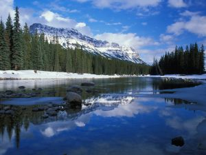River Mountain Canada Wallpapers