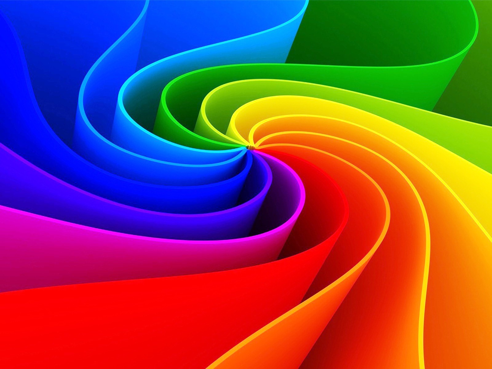3D Dynamic Rainbow Wallpapers