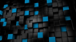 Android Wallpaper Blue And Black