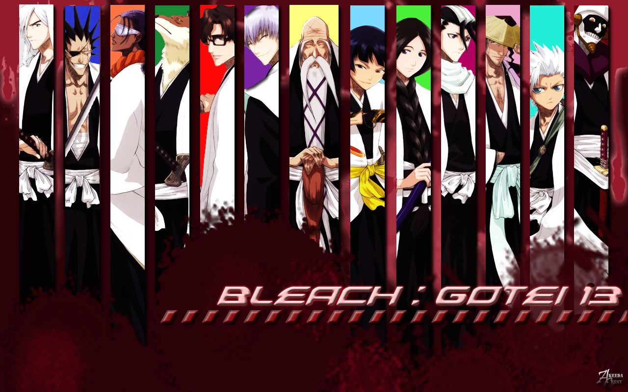 Bleach Wallpaper Captain Backgrounds