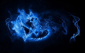 Blue Abstract Light Wallpapers