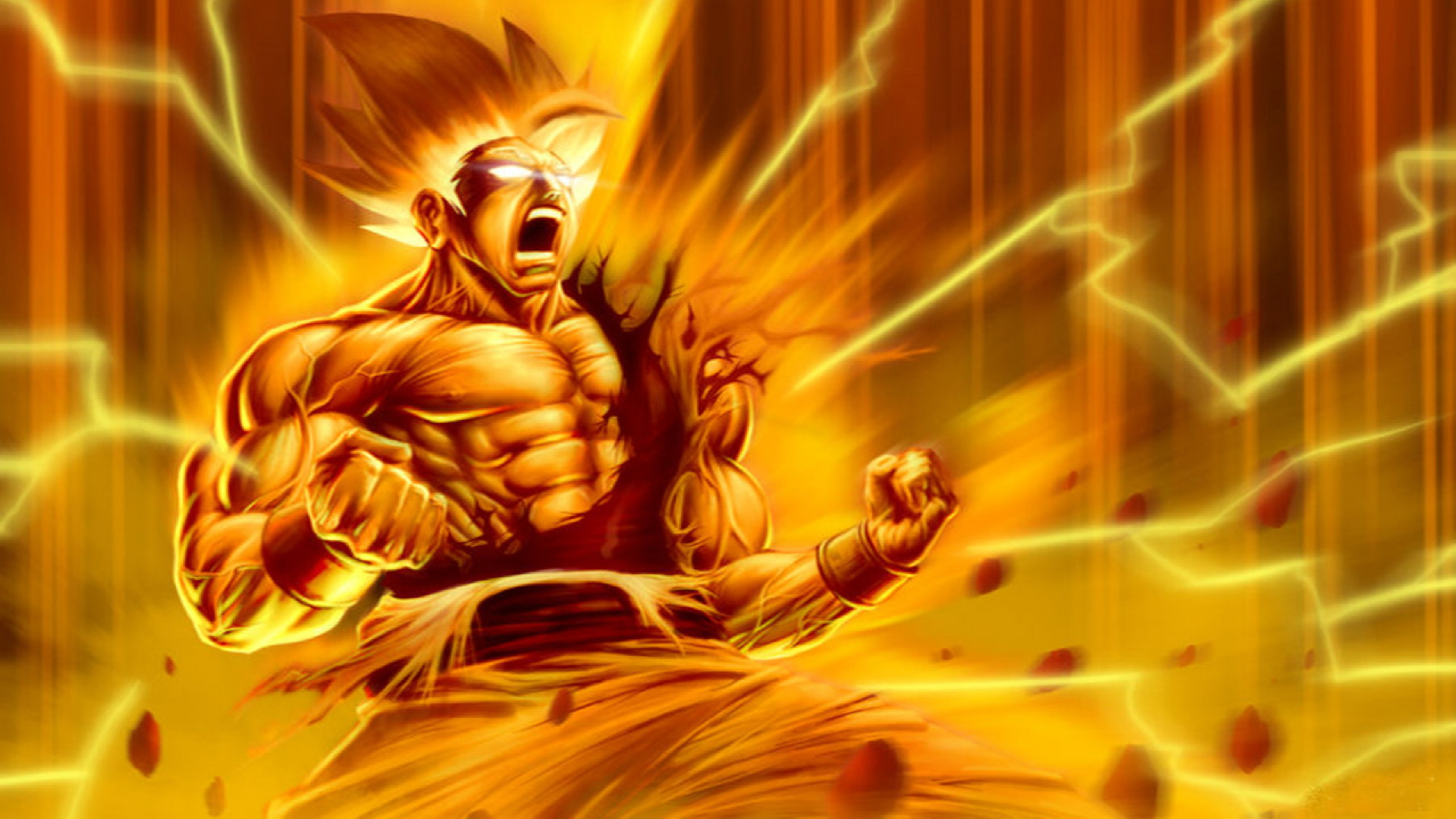 Dragon Ball Z Super Saiyan Wallpaper #6080 Wallpaper