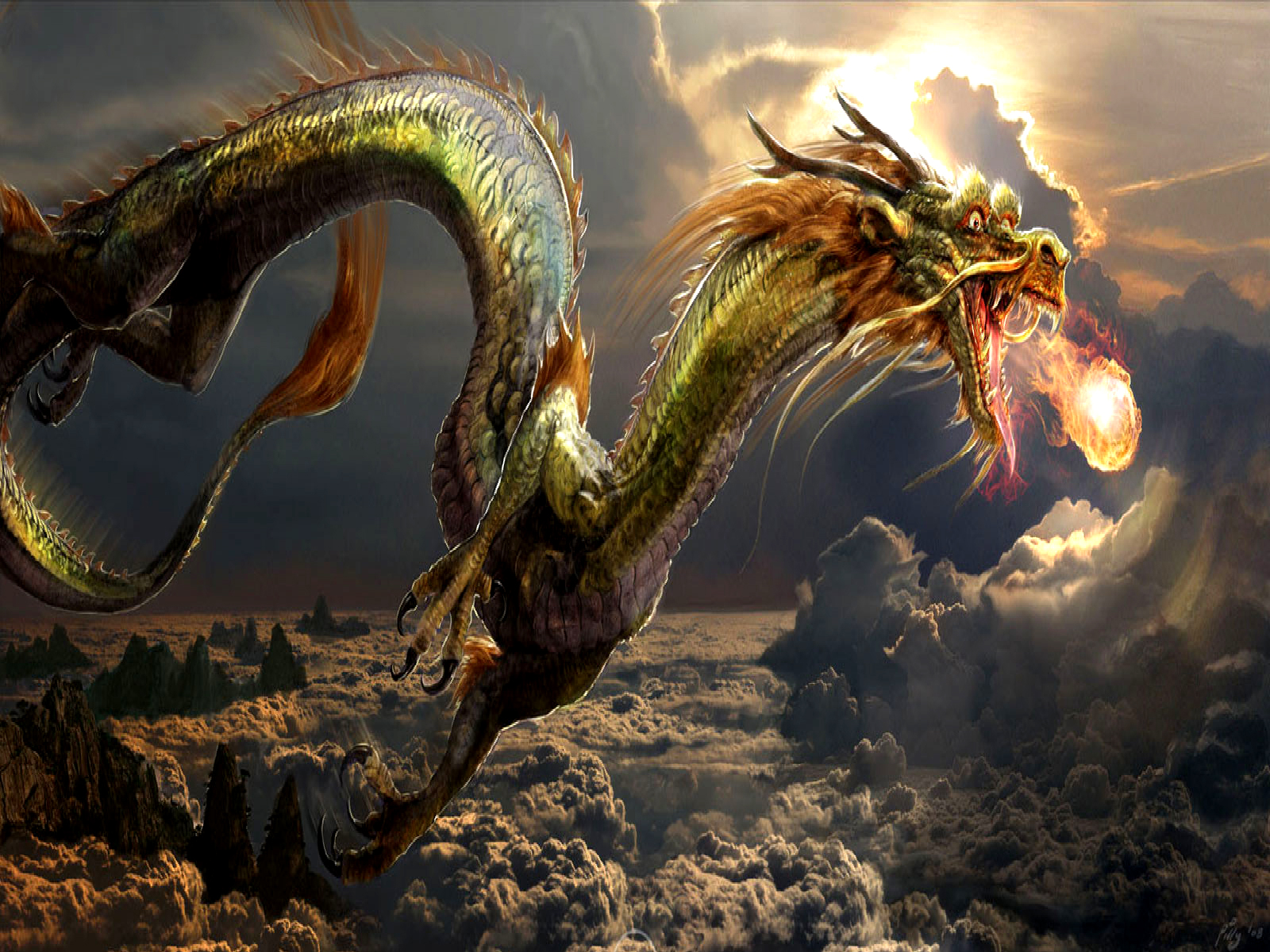 Dragon Wallpapers High Res