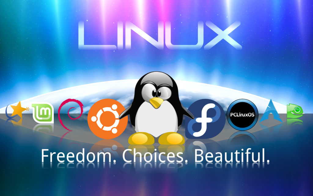 Linux Choice Freedom Wallpaper