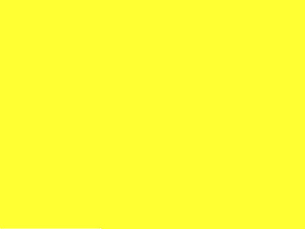 Yellow Wallpaper Widescreen HD