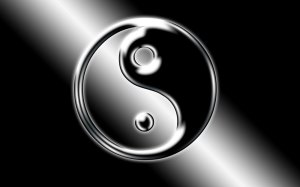Ying Yang Logo Wallpaper Free Downloads