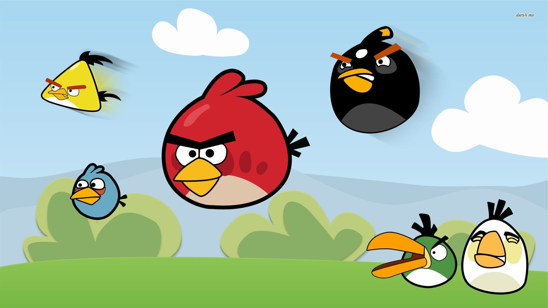 Angry Bird Wallpaper Backgrounds