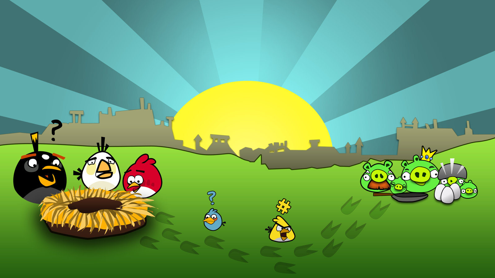 Angry Bird Wallpaper Iphones HD
