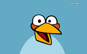 Blue Angry Bird Wallpapers